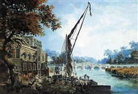 the thames at richmond by james miller