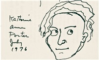 self-portrait by katherine anne porter