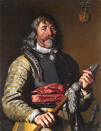 portrait of an officer by william dobson