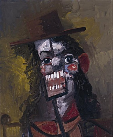 the lunatic by george condo