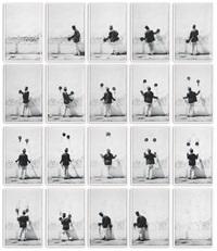 juggla (in 20 parts) by robin rhode