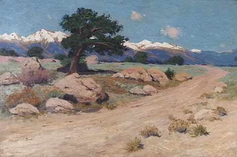early spring in the arkansas valley by charles partridge adams