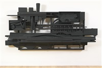 mirror-shadow i by louise nevelson