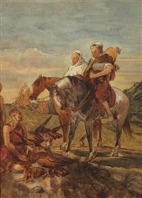 chasse au vol by eugène fromentin