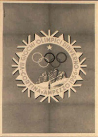 vii giochi olimpici d'inverno by posters: sports - olympics