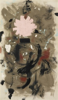 rising by adolph gottlieb