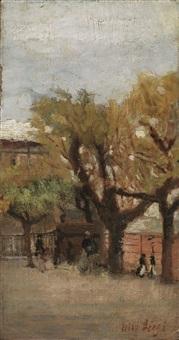 scorcio di giardino by ulvi liegi (luigi levi)