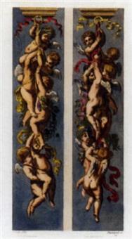 ornements, vases et décorations d'après les maîtres. supplément by auguste pequegnot