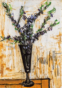 瓶花 (vase de fleurs) by bernard buffet