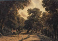 petersham lane by george hilditch