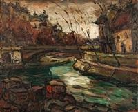 l'ile saint louis by elemer vagh-weinmann