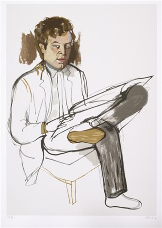 edward avedisian by alice neel