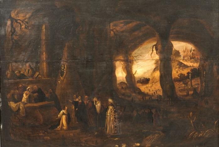 la résurrection de lazare by rombout van troyen