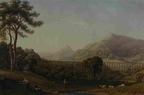 llangollen by george fennel robson