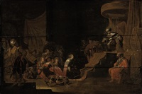 the continence of scipio by rombout van troyen