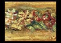 fleurs et fruits fragment by pierre auguste renoir