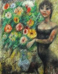 la jeune fleuriste by édouard joseph goerg