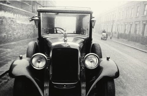 london hearse by robert frank