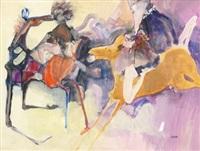 a caballo by oscar estruga
