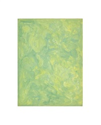 untitled (abstraction in green) by beauford delaney