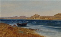 the croatian coast near sebrenica by paul reiffenstein