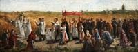 la bénédiction des blés by jules breton