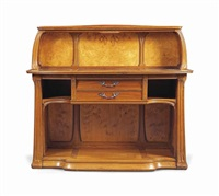 important art nouveau sideboard by albert carl angst