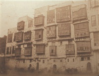 vue du quartier du mousky, le caire, egypte by ernest benecke