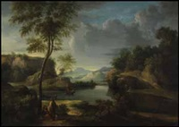 lake averno by richard wilson