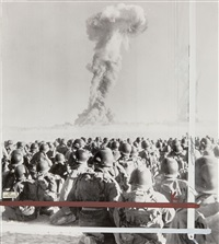 troops see atomic blast by associated press
