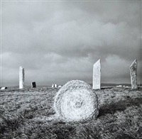 stones of stenness, orkney by fay godwin