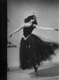 diaghilev dancer, ballets russes, 1930 by brassaï