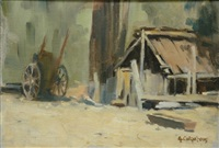 the old cart by alexander colquhoun