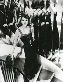 chanel n 1 robe dentelle noire 1930 sonia by karl. Black Bedroom Furniture Sets. Home Design Ideas