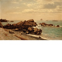 narragansett coastline by william stanley haseltine