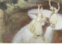 finale, skating ballet by dame laura knight