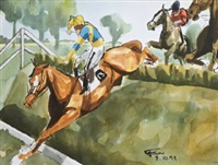 over the hurdle by thierry foure