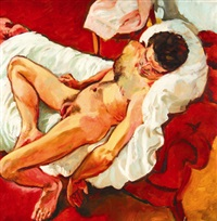 red nude by sandra fisher