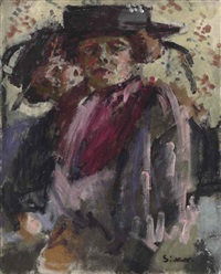 the flower girl; two women by walter richard sickert