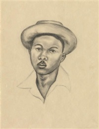untitled (portrait no.2) by whitfield lovell