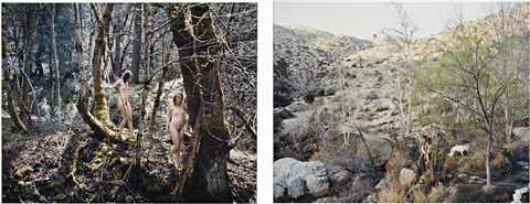 magic afloat (+ tha fall; 2 works) by justine kurland