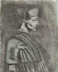 le cardinal d'amboise by joseph-nicephore niepce