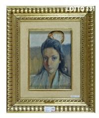 figura di donna borghese by luigi arrigoni