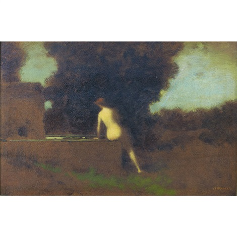 the spring by jean jacques henner
