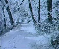 gladkovskii forest by m. apisova