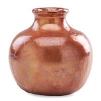 short vase by pewabic pottery