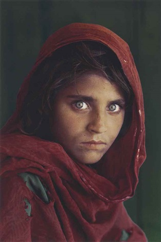 sharbat gula, afghan girl, pakistan by steve mccurry
