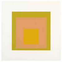 arrived (from soft edge-hard edge) by josef albers