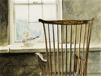 gull and windsor by jamie wyeth