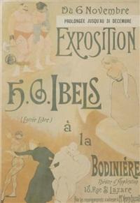 exposition h.g. ibels à la bodinière by henri gabriel ibels